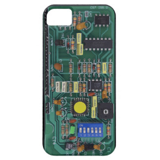 Circuit Board iPhone 5 Cases