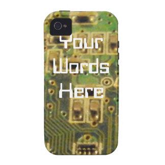Circuit Board iPhone Case Case-Mate iPhone 4 Cases