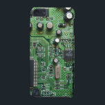 "Circuit Board Ipod Case<br><div class=""desc"">Cool design with a printed circuit board look</div>"