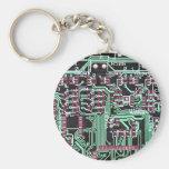 Circuit Board Keychain