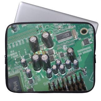 "Circuit board laptop sleeve 15"""
