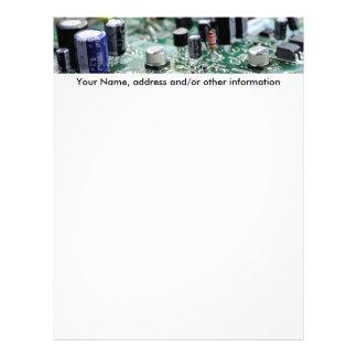 Circuit board letter head letterhead