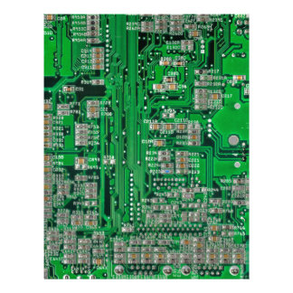 Circuit Board Customized Letterhead