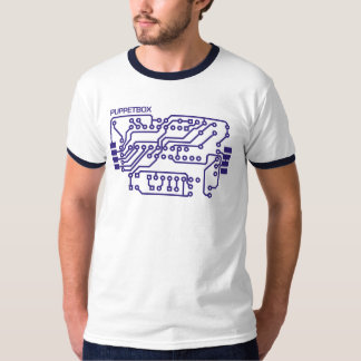 Circuit Board Logo (navy) T-Shirt