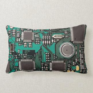 Circuit board lumbar pillow
