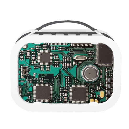circuit board lunch box zazzle com rh zazzle com Circuit Board Chips Circuit Breaker Box
