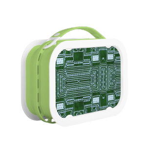 computer geek lunch boxes zazzle rh zazzle com Circuit Board Chips Circuit Board Case