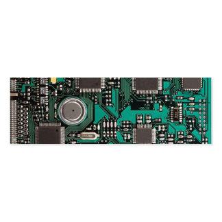 Circuit board mini business card