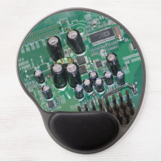 Circuit board mouse pad gel mouse pad