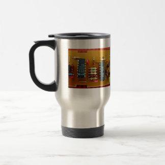 Circuit board 15 oz stainless steel travel mug