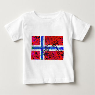 circuit board Norway (Flag) Baby T-Shirt