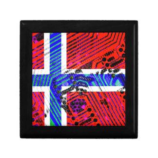 circuit board Norway (Flag) Gift Box