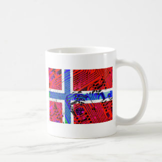 circuit board Norway (Flag) Mugs