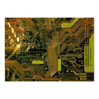 Circuit Board Pattern 1 Card