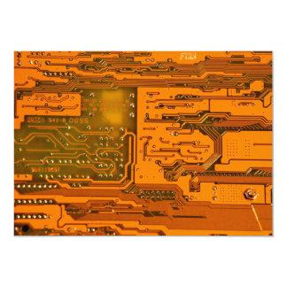 Circuit Board Pattern 5 Card