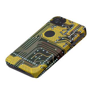 Circuit board (pcb) - gold color Case-Mate iPhone 4 case