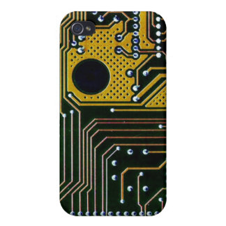 Circuit board (pcb) - gold color iPhone 4/4S cover