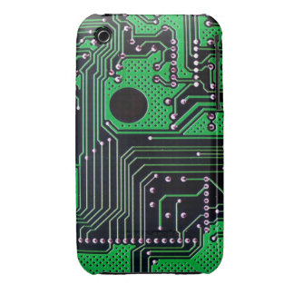 Circuit board (pcb) - green color Case-Mate iPhone 3 cases