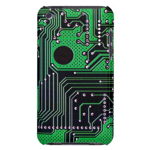 Circuit board (pcb) - green color iPod touch cover