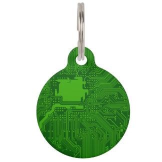 Circuit Board Pet Tag