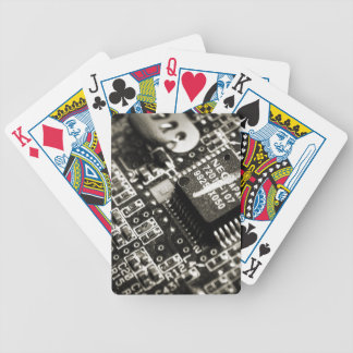Circuit Board Playing Cards