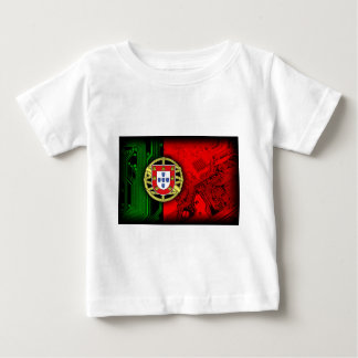 circuit board Portugal (Flag) Baby T-Shirt