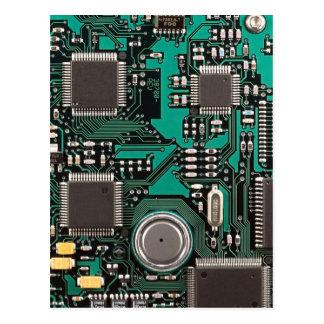 Circuit board postcard
