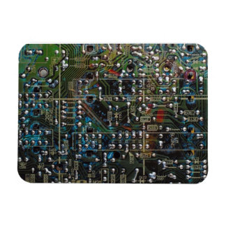 Circuit Board Vinyl Magnets