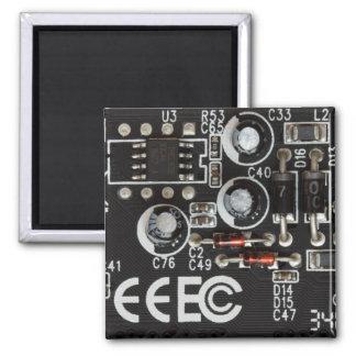 Circuit Board Refrigerator Magnet