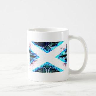 circuit board scotland (Flag) Coffee Mug