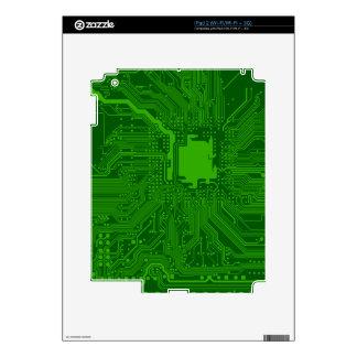 Circuit Board iPad 2 Skin