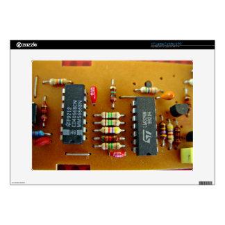 "Circuit board 15"" laptop decal"