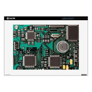 "Circuit board 15"" laptop skin"
