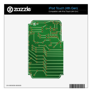 circuit board skins for iPod touch 4G