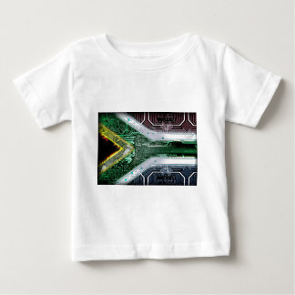 circuit board South Africa (Flag) Baby T-Shirt