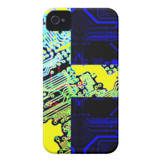 circuit board Sweden Flag iPhone 4 Cases