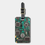 Circuit board travel bag tag