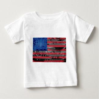 circuit board USA Baby T-Shirt
