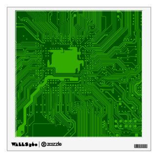 Circuit Board Wall Decal