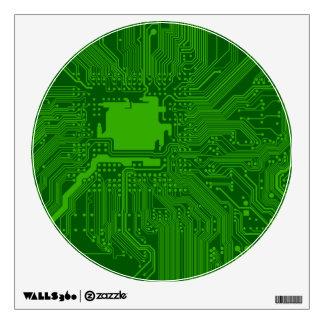 Circuit Board Wall Sticker