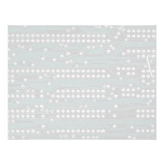 Circuit board wiring letterhead template