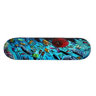 Circuit Breaker - Sk8 Street Art Skateboard