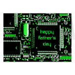 Circuit Green 2 'Father's Day' greetings card