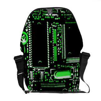 Circuit Green 2 medium zero messenger bag