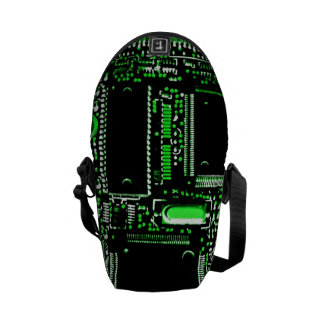 Circuit Green 2 mini zero messenger bag