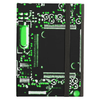 Circuit Green 2 Powis iCase iPad case