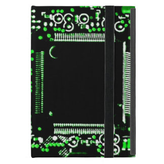 Circuit Green 2 Powis iCase iPad Mini case