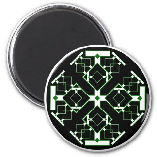 Circuit Medallion 2 Inch Round Magnet