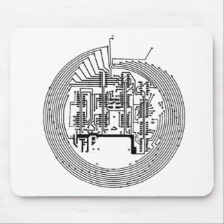 Circuit Mouse Pad