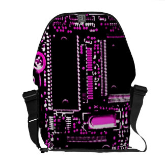 Circuit Pink 2 medium zero messenger bag